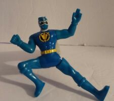 Power Rangers McDonalds Dino Thunder Blue Ranger Kicking Action Toy