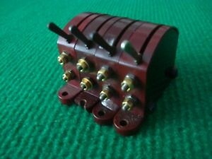 Hornby Dublo D1 switches - bank of four. All tested working.