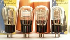 2xTUBES R80 R2/30 Dario Globe selected French MARINE DHT triode valve tube