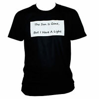 NIRVANA THE SUN IS GONE T SHIRT Kurt Cobain Grunge Lyrics Top SIZES S M L XL XXL