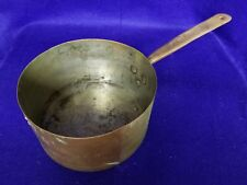 Antique Hand Made Dovetailed Copper Pot
