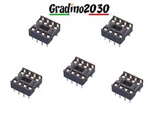 5PZ 8Pin DIP IC Socket Solder Prototype Circuit Adaptor PCB Attiny85 Attiny13