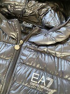 EA7 Emporio Armani Daunenjacke, schwarz, large, TOP!