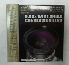 Raynox 52mm High Quality Wide Angle Lens 0.66X with 49 mm Mounting Threads