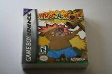 GameBoy Advance * WHAC - A - MOLE * Nintendo Game Boy GBA New Neu Sealed