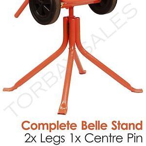 Belle Cement Concrete Mixer STAND & CENTRE Minimix 150 Spares Parts Electric