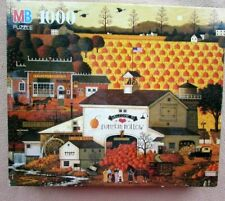 A 1000 PIECE JIGSAW PUZZLE BY CHARLES WYSOCKI - PUMPKIN HOLLOW