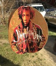 Jimi Hendrix 1983 Record Store Promotional Hanging Mobile Sign Promoting his Cd