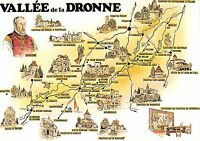 BR52712 La valle de la dronne map cartes geographiques      France 1 2 3