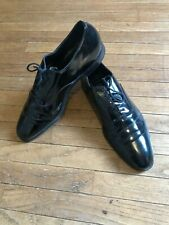 Brooks Brothers Cheaney Mens Black English Patent Leather THE CURZON Shoe 10.5B