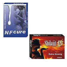 Herbal Supplements For Nightfall Problem 60 NF Cure Pills + 60 Shilajit ES Pills