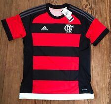 NWT Men's Adidas CRF Flamengo Home Soccer Futbol Jersey 2016/2017 Rugby Sz L