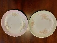 Early 1900s Carlsbad China Salad Plates Made In Austria. Lot