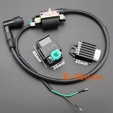 Ignition Coil CDI Box Regulator Rectifier For 50 70 90 110CC Chinese ATV  Kazuma