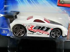 2004 First Editions Tooned Toyota MR2 WHITE HOT WHEELS 1/64 DIECAST CAR
