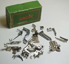 VINTAGE SINGER SEWING MACHINE SIMANCO PARTS - SEWING MACHINE PARTS ORIGINAL BOX