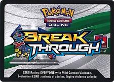 30x Pokemon XY BREAK THROUGH Code Cards Via Online Trade TCG Breakthrough
