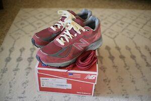 Size 11 - New Balance 990v4 Burgundy - M990BU4