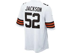 NFL Cleveland Browns D'Qwell Jackson Game Jersey #52 Size XL 479383 106 NEW $100