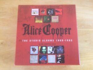 Alice Cooper - The Studio Albums 1969-1983 (15 Album Box Set)