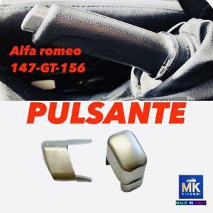 PULSANTE FRENO A MANO ALFA ROMEO 147 (CROMATO SATINATO)