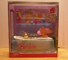 🛁BARBIE furniture 2007 MY HOUSE BLUE BATHTUB NRFB Bathroom accessories NEW HTF