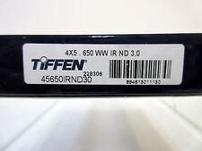 """4x5.65"""" Tiffen 4x5.650 IRND3.0 Filter Full Spectrum Water White 45650IRND30"""