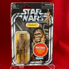 Star Wars RETRO COLLECTION - CHEWBACCA Figure - MINT ON CARD (MOC)