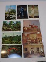 Huntington Library Art Gallery Gardens Old Postcard Lot San Marino California
