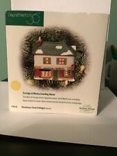 """Dept 56 Lighted Christmas Ornament """"Scrooge And Marley Counting House� #98745"""