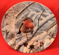 Wedgwood Bone China Collectors Plate Winter Dawn By Trevor Boyer