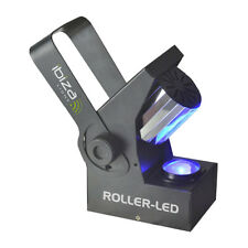 Ibiza Light Roller LED 10W RGBW DMX Barrel Scanner Effect Light Disco Lighting