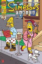 SIMPSONS COMICS # 82 + MEGA-POSTER - PANINI COMICS 2003 - TOP