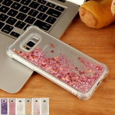 Shockproof Dynamic Quicksand Glitter Soft Case Cover For Samsung Galaxy Phones