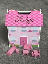 Wooden Dolls House, Personalised, Toy, Gift, Birthday, Christmas, Unique