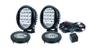 Hella 358117171 ValueFit 500 LED Auxiliary Driving Light Pair