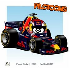 Print on Canvas Red Bull RB15 2019 #10 Pierre Gasly (FRA) by BM