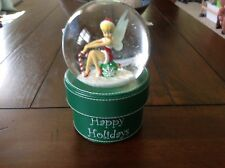 Disney store Tinkerbell snowglobe / trinket box