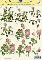 3D Bogen Motivbogen Etappenbogen Grußkarte Scrapbooking Blumen Blüten 272