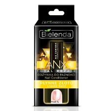 Bielenda Total Repair Nail Conditioner ANX10 Liquid Gold 11ml Formaldehyde FREE