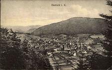 Haslach Kinzigtal Schwarzwald 1917 AK mit Bahnpost-Stempel nach Untertürkheim