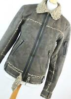 River Island Womens Size S Brown Jacket