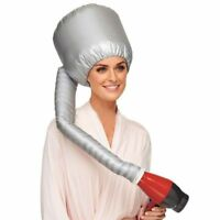 Portable Bonnet Hood Hair Drying Cap Hat Blow Hair Dryer Attachment