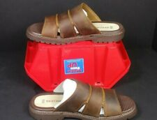 Mens, Skechers, Cool Cat FELIX, Brown, Leather, Sandals, Size 10