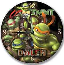 "10.5"" Tmnt Teenage Mutant Ninja Turtles Wall Clock Room Decor - 7182_Ftllc"