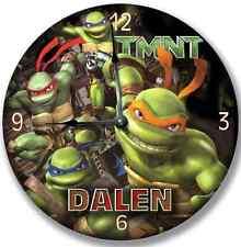 """10.5"""" TMNT Teenage Mutant Ninja Turtles Wall Clock Room Decor - 7182_FT"""