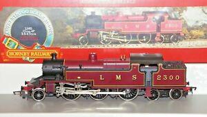 Hornby 00 Gauge R055 Class 4P LMS 2-6-4T Locomotive 2300 Crew Pack Used VNMIB