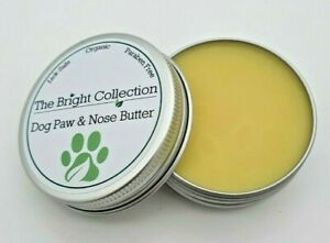 Handmade Dog Paw Balm, Dog Nose Butter, lick safe, dry skin, cracked paws, 30ml