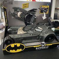 Batman Batmobile and Batboat 2-in-1 Transforming Vehicle Spin master new
