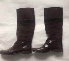 Gucci Gr. 39,5 Braune Leder Stiefel Boots Original